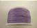 Puuvillanauha vahattu lila/vaalea violetti 1 mm (myyntierä 1 m)