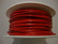 Nahkanauha kirkkaanpunainen pyöreä 1,5 mm (myyntierä 1 m)
