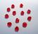 Swarovski kristallihelmi punainen Light Siam 4 mm (5/pss)