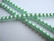 Helmiäislasihelmi mintun vihreä 10 mm (n. 21 kpl/nauha)
