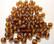 Tsekkiläinen lasihelmi tumma topaasi /ruskea pyöreä 4 mm (50/pss)