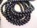 Makeanvedenhelmi musta A n. 6 -7 mm (37,5 cm nauha)