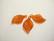 Lucitehelmi Poppelinlehti Siennan punainen 10 x 19 mm (2/pss)