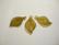 Lucitehelmi Poppelinlehti tumma oliivinvihreä 10 x 19 mm (2/pss)