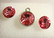Swarovski kristalli rivoli vaalean punainen Rose 12 mm