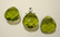 Swarovski kristalli brioletti oliivin vihreä 11 x 10 mm