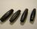Sarvihelmi musta n. 26 x 7,5 mm (6 kpl/pss)