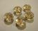 Kristallihelmi Champagne rondelli  12 x 8 mm (2/pss)