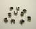Musta suojahelmi/päällyshelmi 5 mm kiinnityshelmelle (20 kpl/pss)