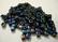 Miyuki siemenhelmi kuutio 3.5-3.7 mm opaakki sateenkaari musta SB401R (10 g/pss)