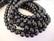 Makeanvedenhelmi musta A n. 8 mm (n. 37,5 cm  nauha)
