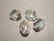 Swarovski kristallihelmi kirkas Cosmic AB 12 mm (2/pss)