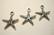 TierraCast Riipus hopeoitu Meritähti 18,5 mm