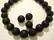 Laavakivi helmi musta pyöreä 12 mm (10/pss)