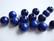 Rayher Puuhelmi kirkas sininen pyöreä 8 mm (n.80 kpl/pss)