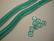 Tsekkiläinen lasihelmi veden vihreä rondelli 6 x 2,5 mm (10 g = n. 100 kpl)
