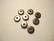 TierraCast Metallihelmi/välihelmi Heishi musta 7 mm (20/pss)