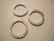 TierraCast Korulinkki Taottu hopeoitu 19,5 mm (sisämitta 13,5 mm)