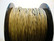 Puuvillanauha vahattu vaaleanruskea 1 mm (m-erä 1 m)