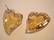 Swarovski kristalli Devoted 2 U -sydänriipus kulta Golden shadow 17 mm