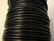 Puuvillanauha vahattu musta n. 2 mm (m-erä 1 m)