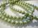 Helmiäislasihelmi oliivin vihreä 8 mm (n. 52/nauha)