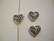 TierraCast Metallihelmi Sydän hopeoitu 11 mm (2 kpl/pss)