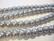 Helmiäislasihelmi vaalea harmaa 8mm (20kpl /pss)