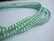 Helmiäislasihelmi mintun vihreä 4 mm (n. 102/nauha)