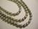 Makeanvedenhelmi vaalea harmaa 6 - 7 mm (38 cm nauha)