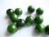 Rayher Puuhelmi tumman vihreä pyöreä  14 mm (18 kpl/pss)