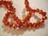 Kristallihelmi punainen (Light Siam) AB rondelli 6 x 8 mm (20/pss)
