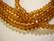 Kristallihelmi tumma meripihkan ruskea rondelli 4 x 6 mm (20/pss)