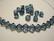 Swarovski kristallihelmi denim sininen bicone 6 mm (4/pss)