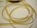 Organzanauha kulta n. 6 mm leveä (m-erä 2 m)