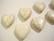 Kivihelmi 'valkoinen turkoosi' sydän 20 x 20  mm