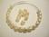 Swarovski barokki helmiäislasihelmi valkoinen (cream) 6 mm (4/pss)