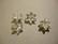 Strassilinkki Kukka hopean värinen 14 mm