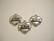 TierraCast Riipus Love-sydän hopeoitu 14 x 15 mm