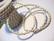 Nahkanauha punottu valkoinen pyöreä 4 mm (m-erä 1 m)