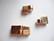Magneettilukko 10 mm litteälle nahkanauhalle ruusukulta 26 x 12 mm