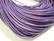 Nahkanauha pyöreä lila/violetti 1.5 mm (myyntierä 1 m.)