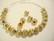Metallihelmi kullattu uritettu pyöreä 6 mm (10 kpl/pss)