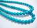 Kalkkiturkoosi sinisävyinen pyöreä 6 mm (20/pss)