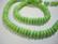 Kalkkiturkoosi limen vihreä rondelli 8 x 3 mm (20/pss)