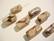 Lamppuhelmi toffeen ruskea / valkoinen suorakaide 23 x 11 x 11 mm (2/pss)