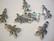 TierraCast Riipus Piparkakkupoika hopeoitu 20 x 11 mm