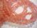 Cherry quartz kivihelmi, läpikuultava punainen pyöreä 6 mm (20/pss)