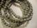 Puuhelmi vaalea harmaa pyöreä 6 mm (n.74 kpl/nauha)