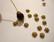 TierraCast Helmihattu Lehti kullattu 5 mm (2 kpl/pss)